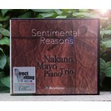 "Mayo Nakano Piano Trio GLASS CD-R  ""Sentimental Reasons"""